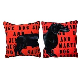 Jimmie Martin Cushions by Jimmie Martin