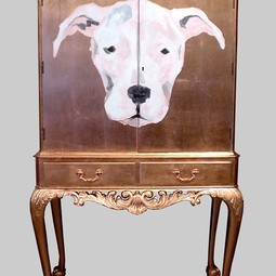 DOG CABINET by Jimmie Martin