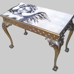 CUPID HALL TABLE by Jimmie Martin