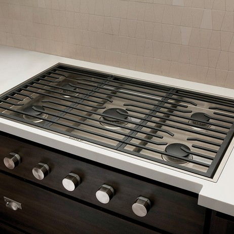 "Wolf 36"" Contemporary Gas Cooktop (with 5 burners) by Sub-Zero Group, Inc."