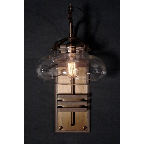 Oxford Station Wall Sconce by Donovan Design