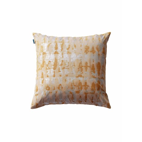 organic cushion by Cocoon Fabric Art