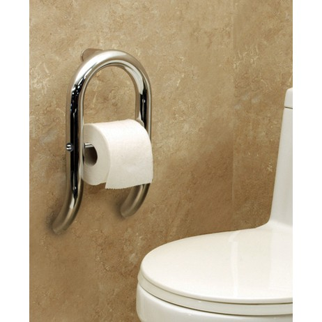 Invisia Toilet Roll Holder by Invisia Collection by HealthCraft