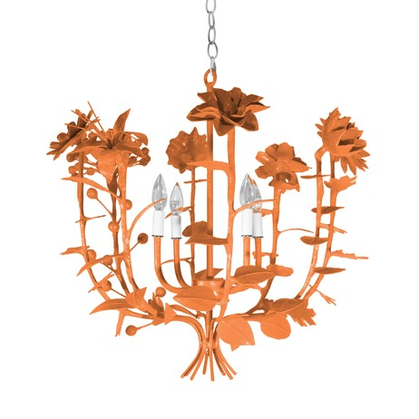 Terrell Swan Chandelier by Stray Dog Designs