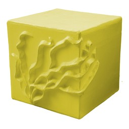 Seaweed Cube Stool / Accent Table by Stray Dog Designs