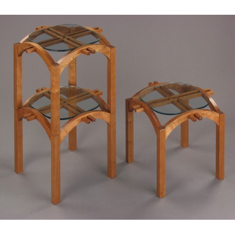Stackables by Libby Schrum by Center for Furniture Craftsmanship