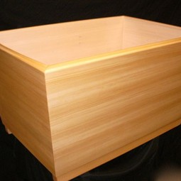 Kyoto - Japanese Ofuro tub by SeaOtter WoodWorks Inc.