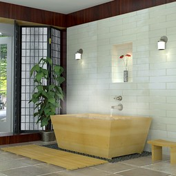 Ofuro - Japanese deep soaking tub by SeaOtter WoodWorks Inc.