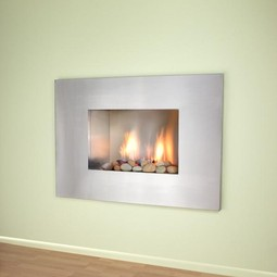 Vision Vent Free Fireplace by European Home