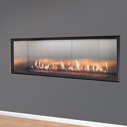 Halcyon Linear gas fireplace by European Home