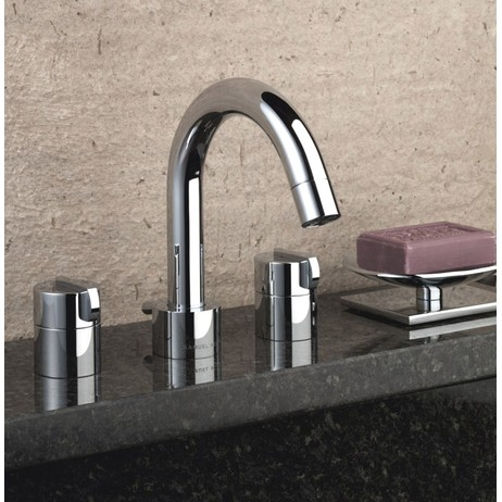 Xenon three hole basin mixer by Samuel heath