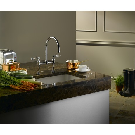 Fairfield kitchen faucet by Samuel heath