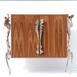 Dresser with wrought iron legs   by ARS FERRO