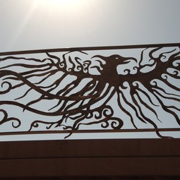 Phoenix (part of a railing) by ARS FERRO