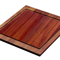 Iroko Wood Cutting Board by Franke Kitchen Systems Luxury Products Group