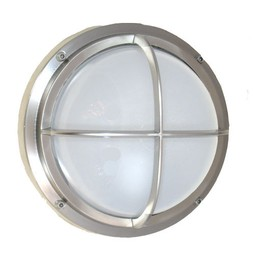 Bulkhead Light with Cross Bar by Shiplights