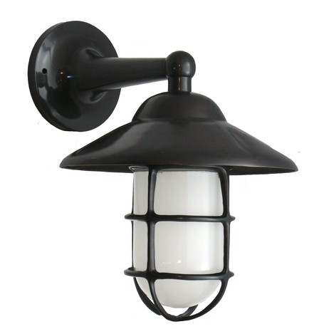 Large Wall Mount with Hood by Shiplights