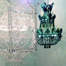 Chandelier MIX/ Chandelier PAGODA by Micaela Tuffano