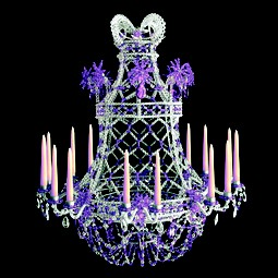 Chandelier MEM by Micaela Tuffano