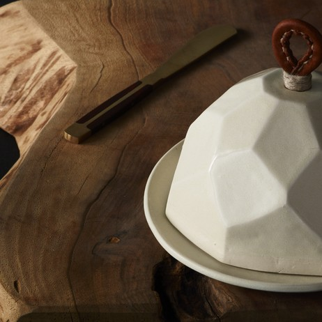 Battuto Butter Dish by dbO Home
