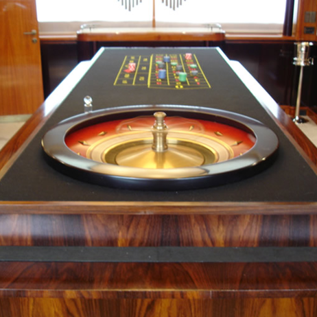 Roulette Table by Fine Edge Designs