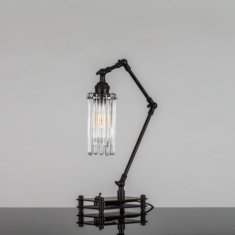 The Black Articulated Lamp by Westin Mitchell