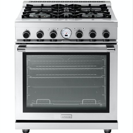 "30"" NEXT Dual Fuel Range by Superiore"