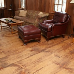 Wide Plank Pine Flooring by Hull Forest Products