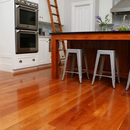 American Cherry Wide PLank Flooring by Hull Forest Products