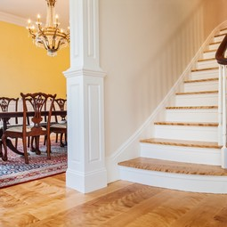 Custom Stair Treads by Hull Forest Products