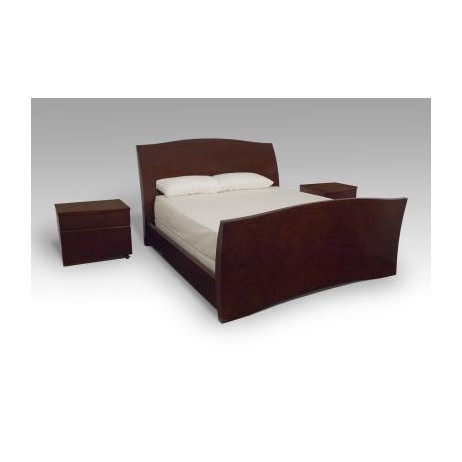 Martinique Bed and Nightstands by Lee Weitzman Furniture