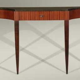 Scallop Console Table by Lee Weitzman Furniture