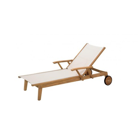 WIMBLEDON LOUNGER   by Gloster Furniture