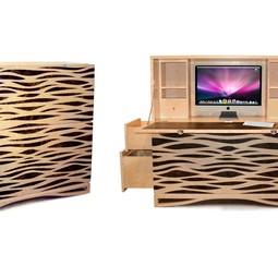Mirage - Inlaid Secretaire by Timothy Mark