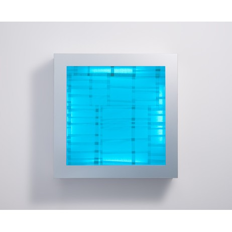 Illuminated Grid Series by Anna Glasbrook Textiles
