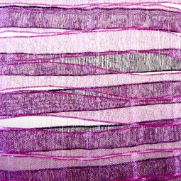 Ripples Series in Purple by Anna Glasbrook Textiles