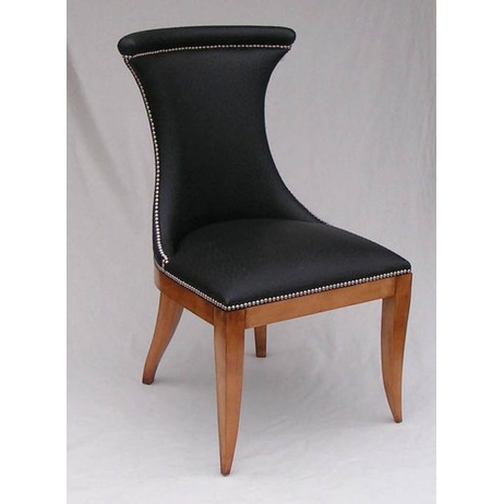 Art Deco Ostrich skin chair by Reed and Rackstraw