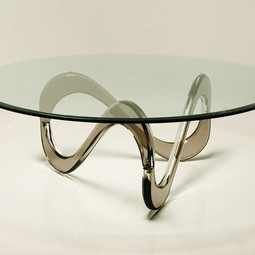 INFINITY Acrylic Coffee Table by DESIGNLUSH