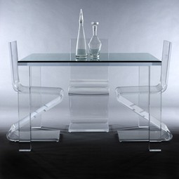 AVINO Acrylic Dining Table by DESIGNLUSH