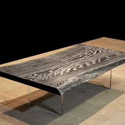 SILVER IMPREGNATED TABLE by DESIGNLUSH