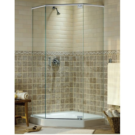 Series 30 Neo Angle Frameless by Mr. Shower Door, Inc.