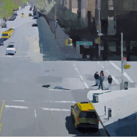 "Lisa Breslow, ""From the Highline"" by Kathryn Markel Fine Arts"