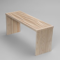 Disorder Bench by Peg Woodworking