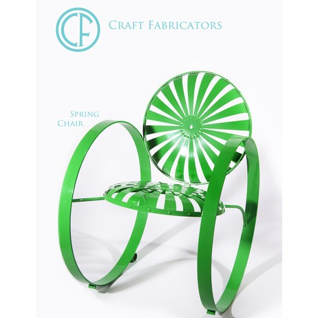Spring chair by Craft Fabricators