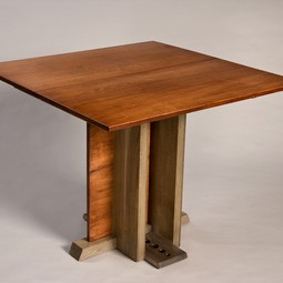 """Corner of Broadway"" Table by William Robbins Furniture Maker"