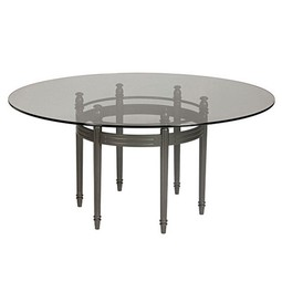 "Castillo 60"" Round Dining Table by GIATI DESIGNS, INC."