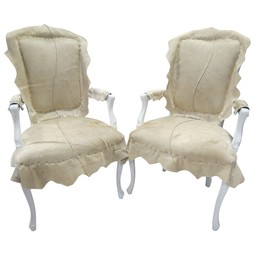 Cowhide Berger Chair's by Tiger Lily's