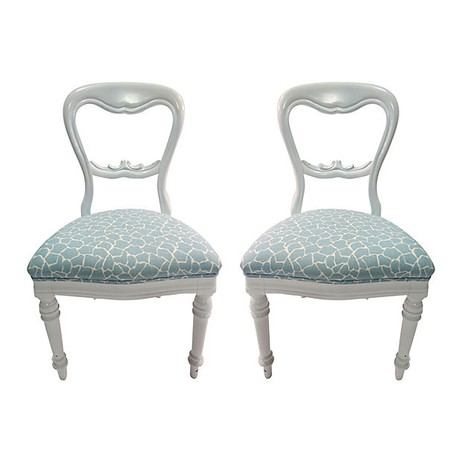 Laurette Kittle Victorian Chairs by Tiger Lily's