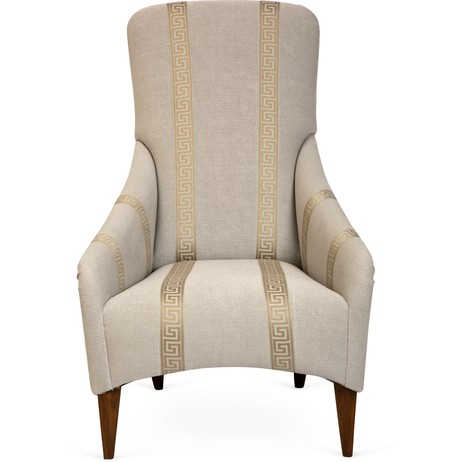 Greek-Key Chair by Tiger Lily's