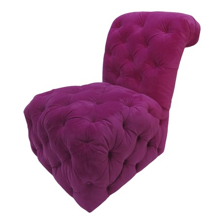 Tufted Slipper Chair by Tiger Lily's